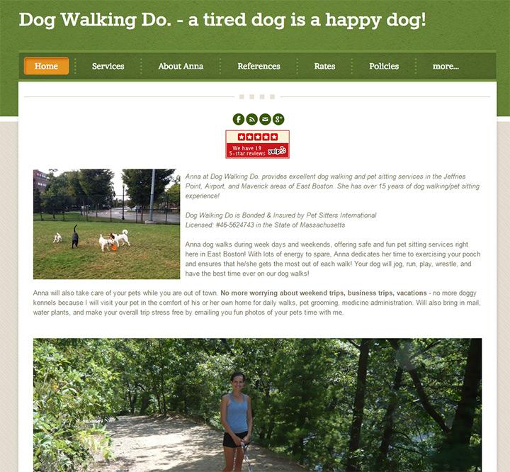 dog walking do