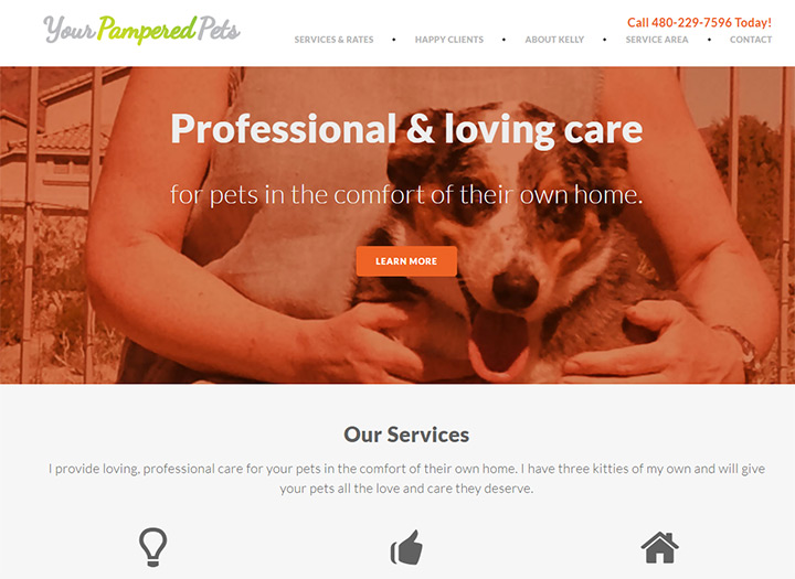your pampered pets