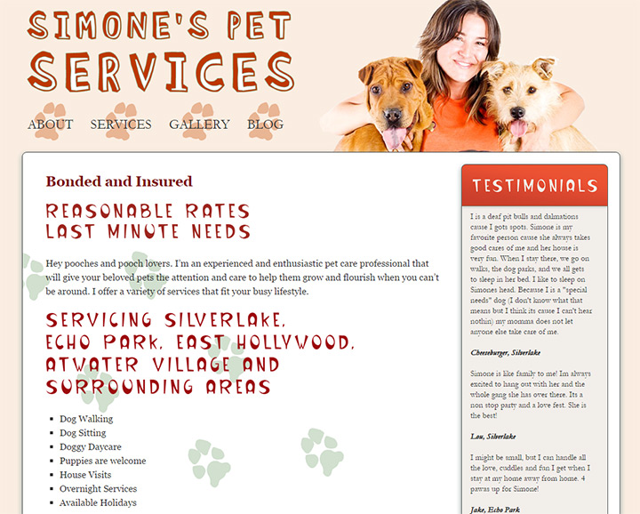 simones pet recipes
