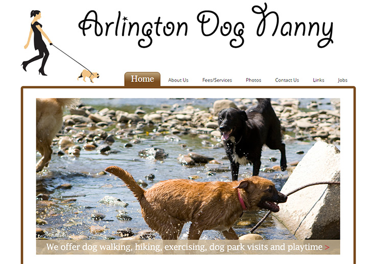 arlington dog nanny