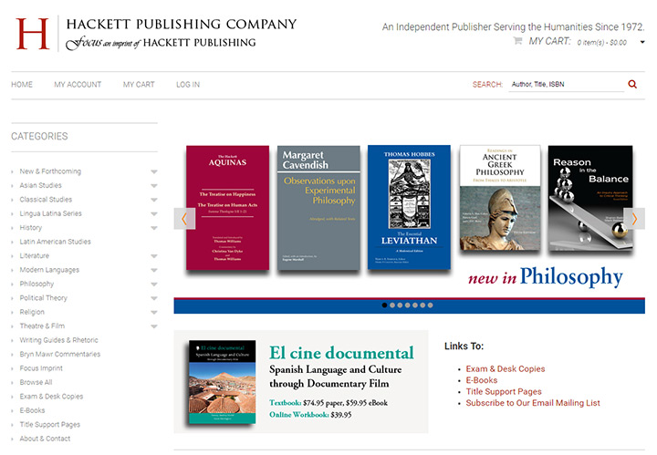 hackett publishing