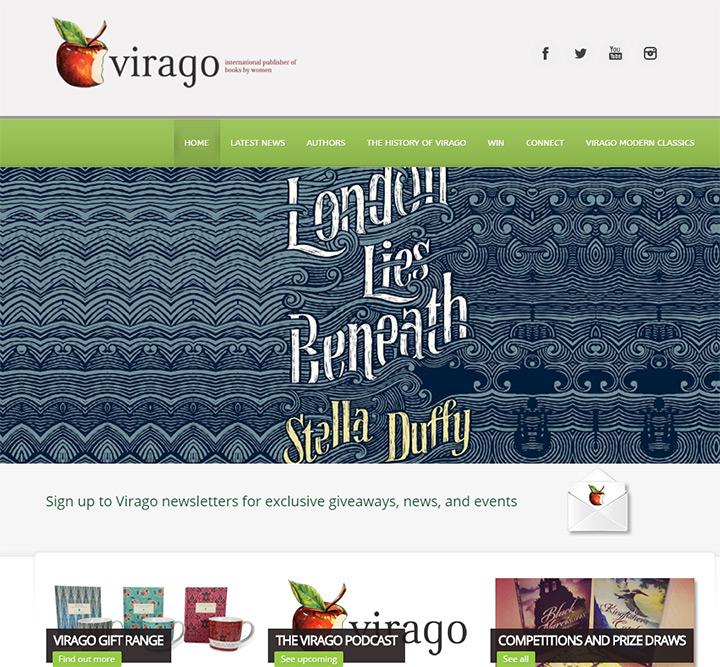 virago books