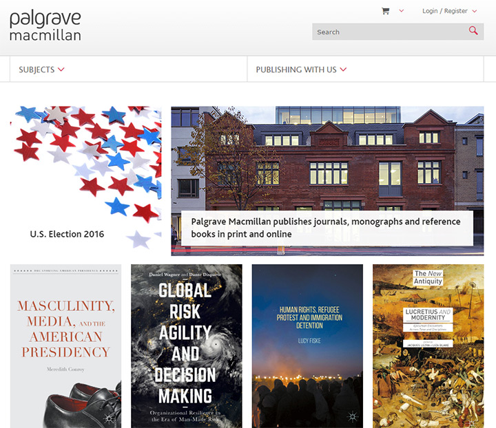 palgrave books