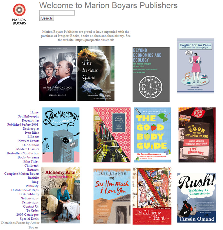 marion boyars books
