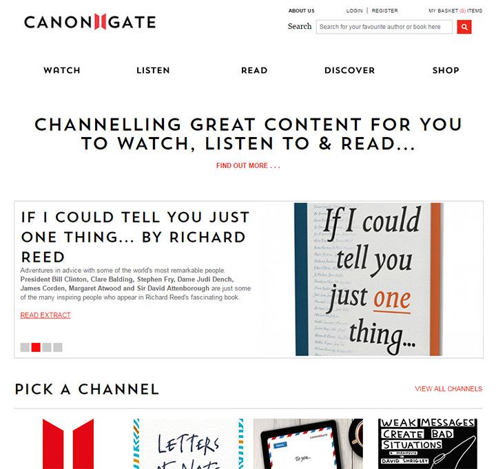 canongate books