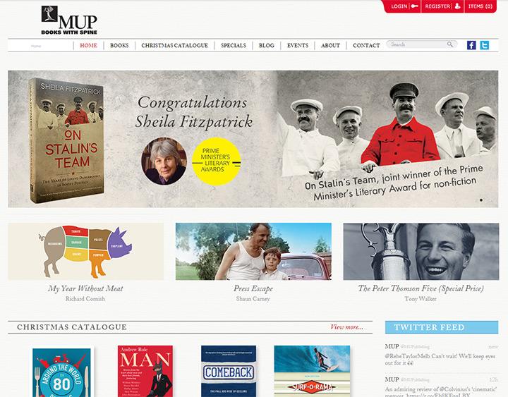 mup australia books