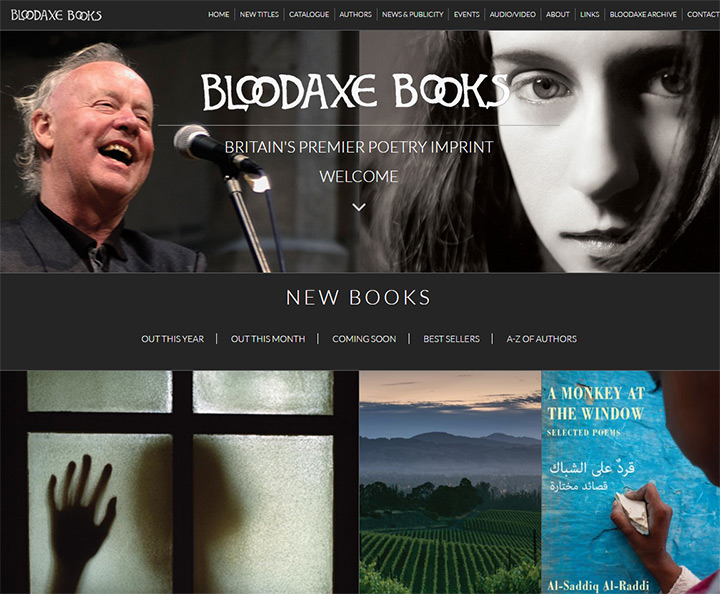 bloodaxe books
