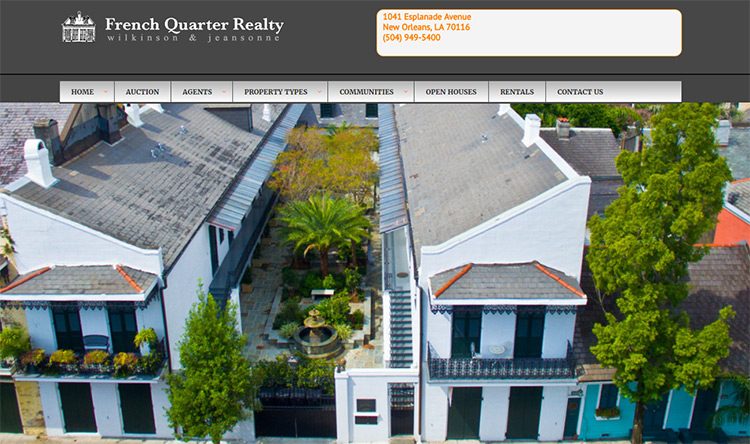 french quarter realty