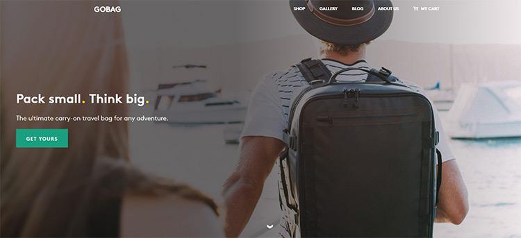 gobag website
