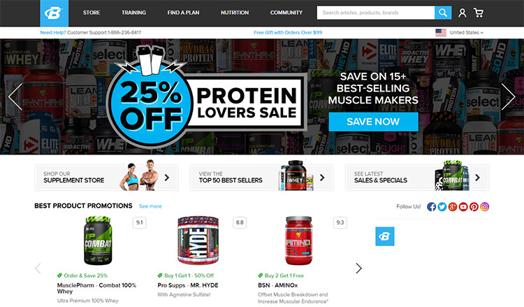 bodybuilding website