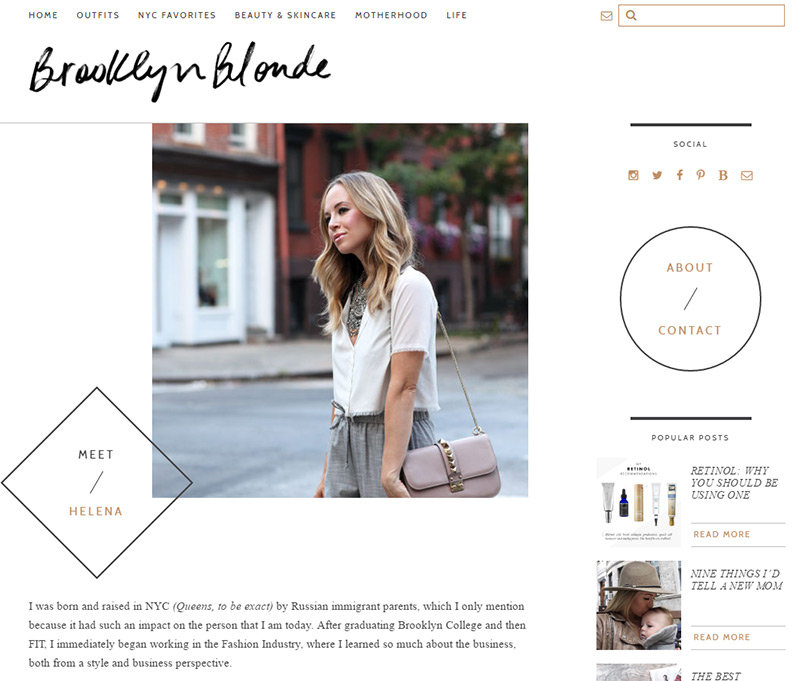 brooklyn blonde blog