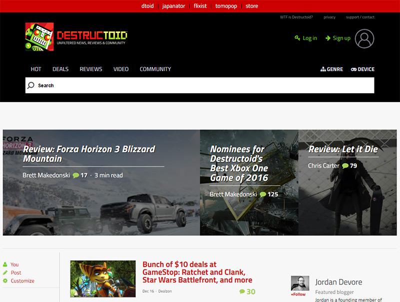 destructoid blog