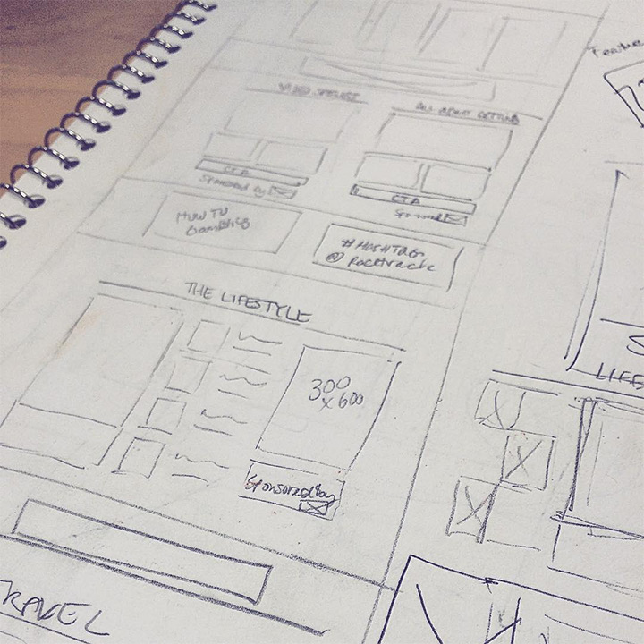 lightmaker sketch wireframe