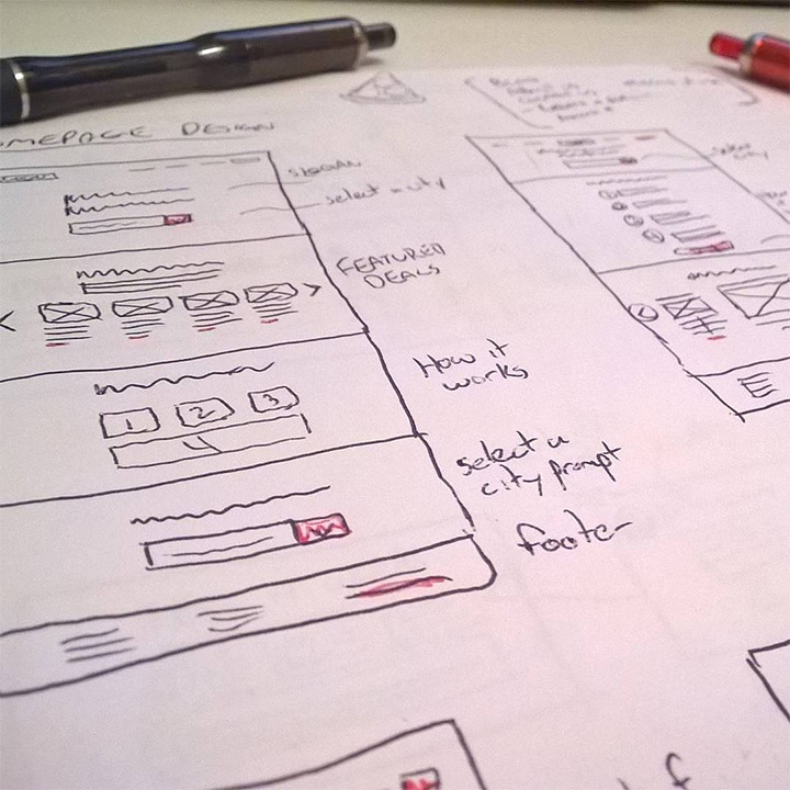 ui ux wireframing kevin powell