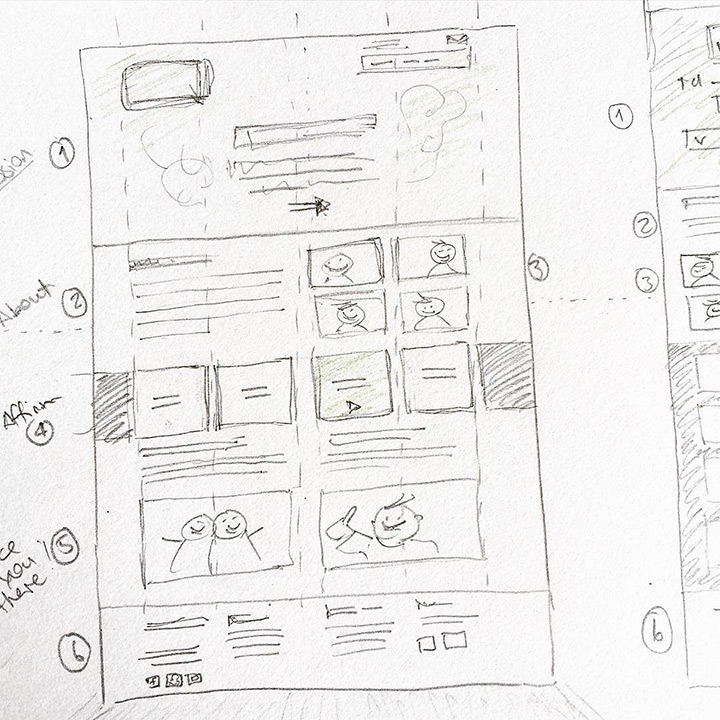 sketch website ui