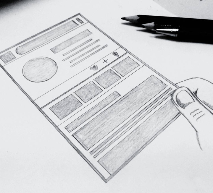 chintan shukla drawing sketching wireframe