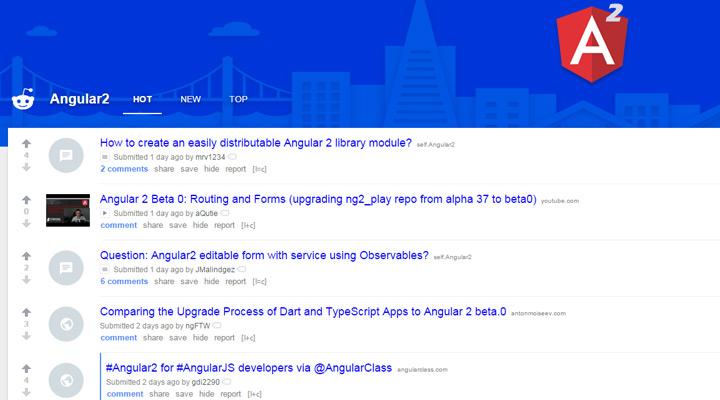 angular2 subreddit