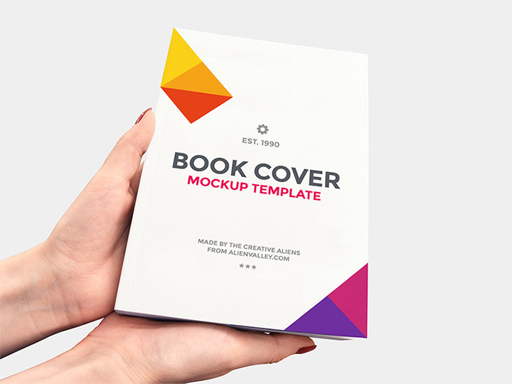 book cover mockup freebie