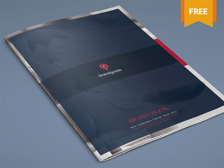 branding book template freebie