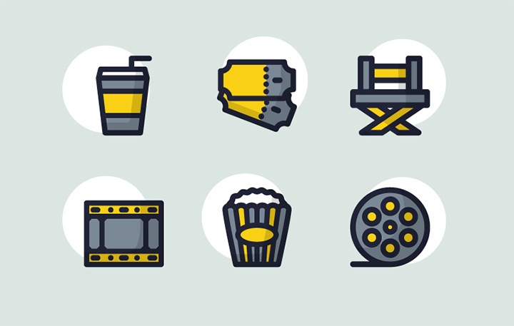 cinema movies iconset