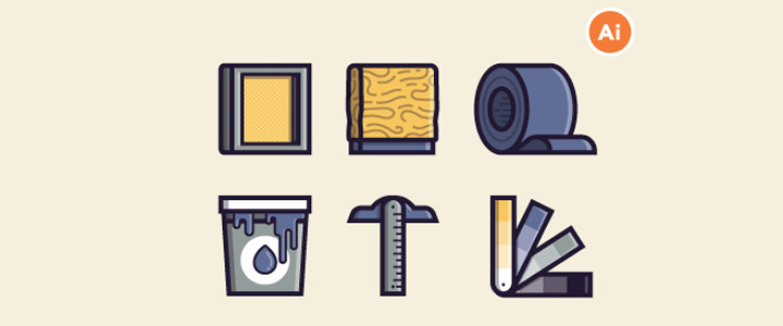 screen printing freebie icons