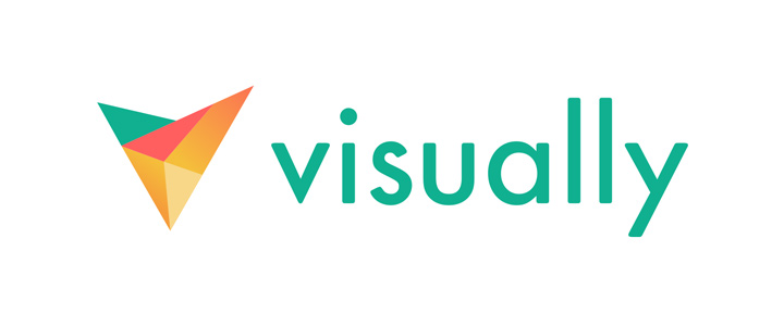 new visually logo design