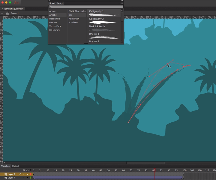 animate cc brush panel screenshot