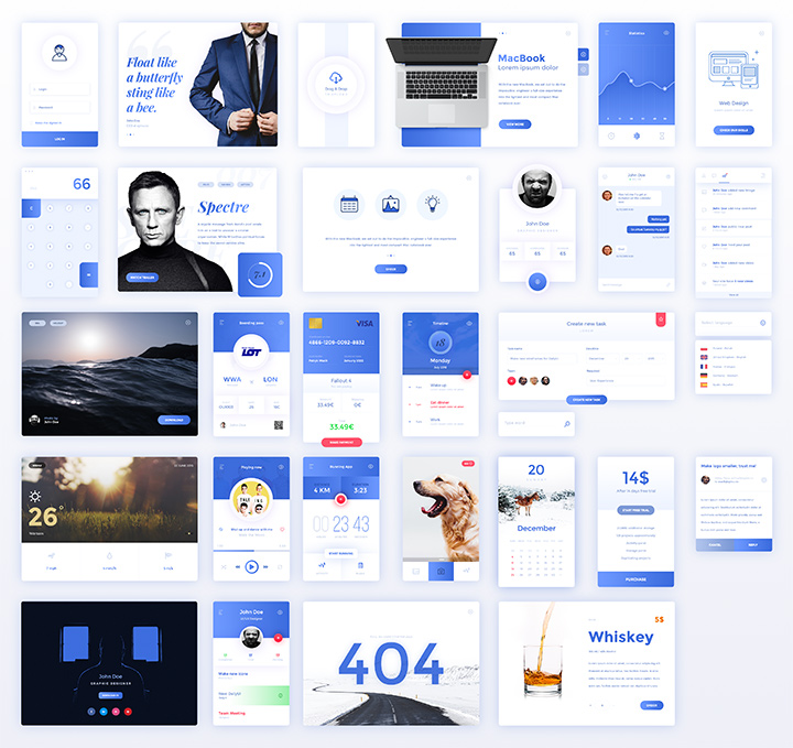 30-pack free interfaces sketch
