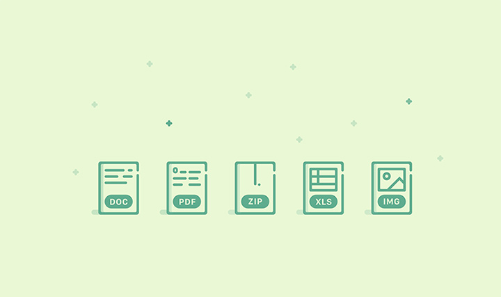 green thin iconset documents