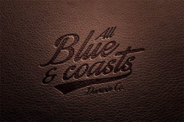 leather texture text