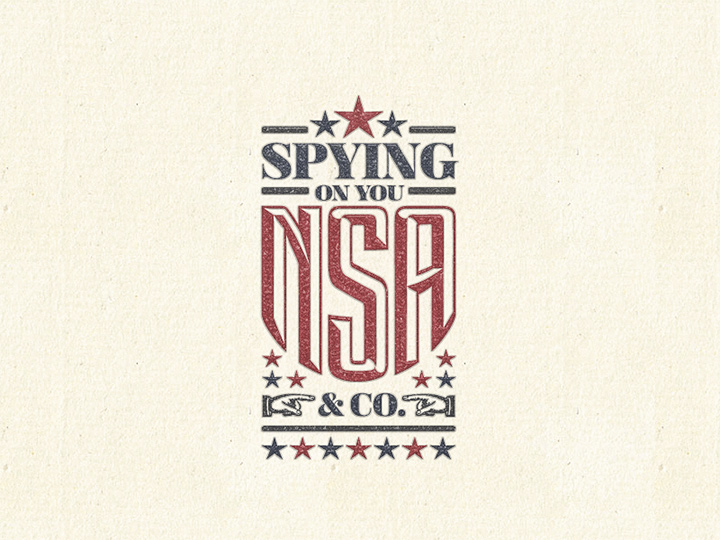 nsa spying on you vector