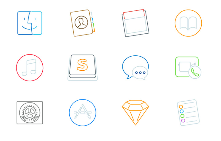 mac icons freebie
