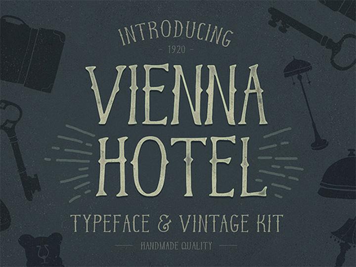 vienna hotel typeface