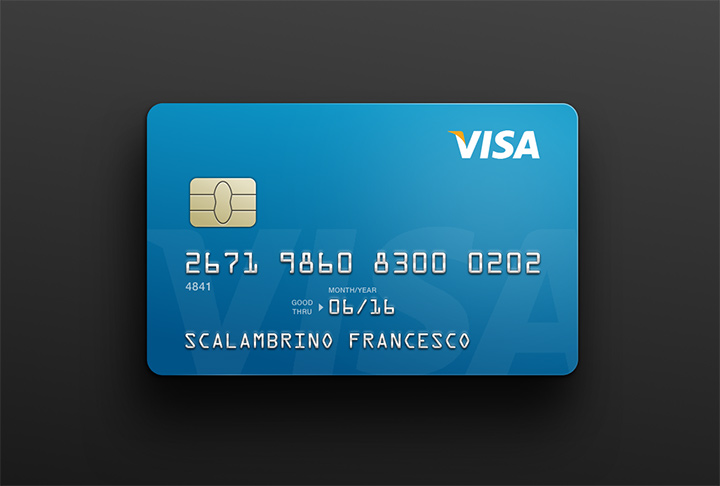 sketch freebie creditcard