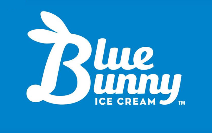 blue bunny le mars iowa - new logo redesign