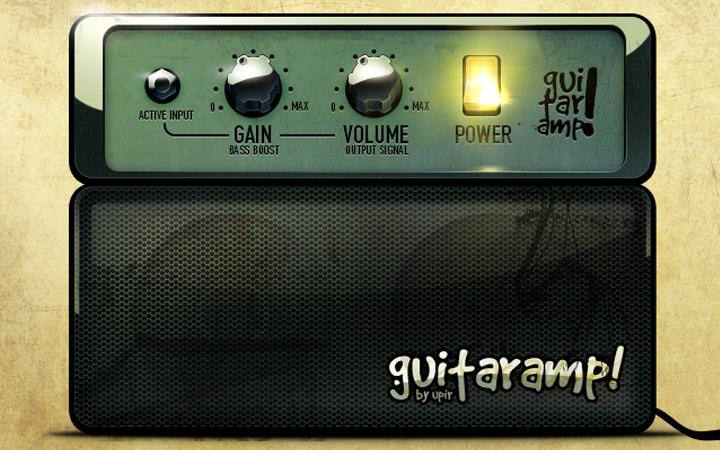 guitar amp combo psd freebie