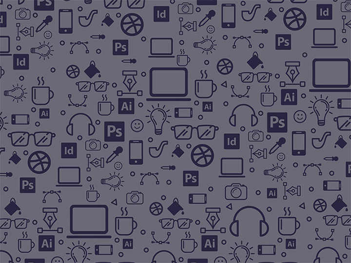 freebie design icons repeating pattern