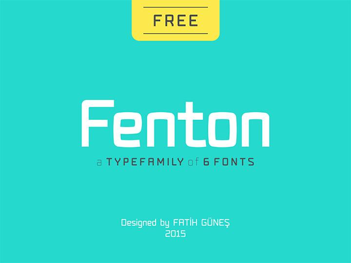 fenton type family free