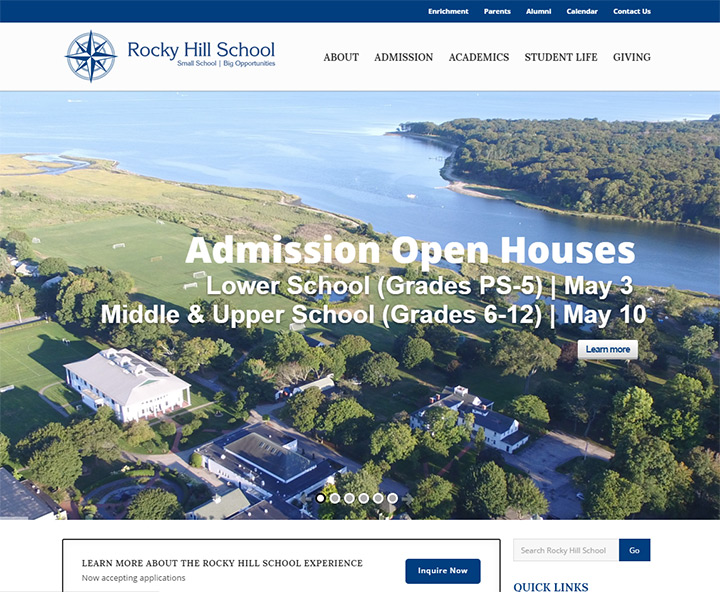 rocky hill high school website