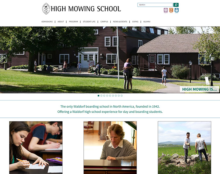 high mowing high school website