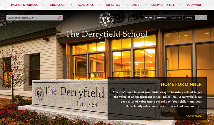 derryfield high school website