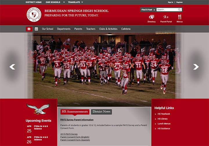 bermudian springs school website