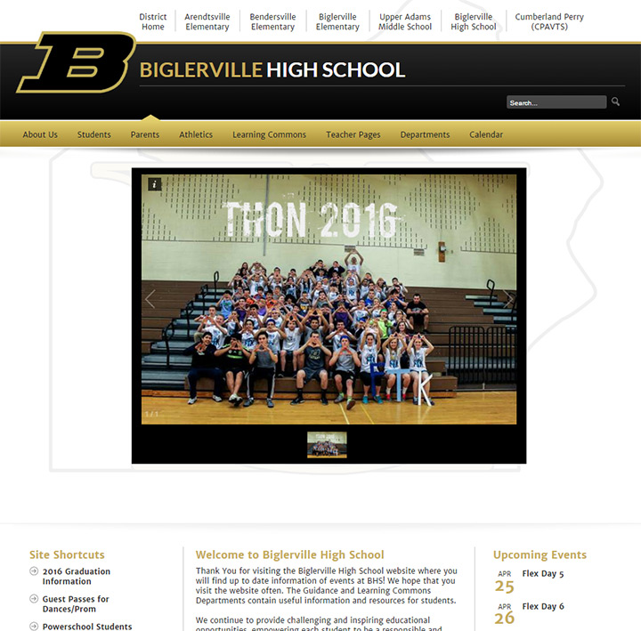 biglerville website school