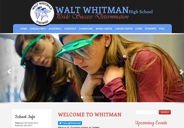 walt whitman school