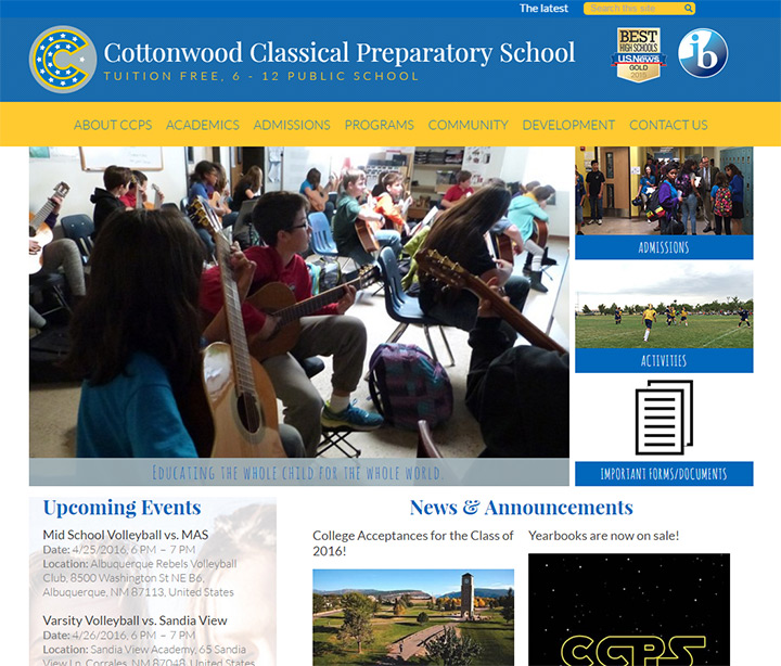 cottonwood classical prep school
