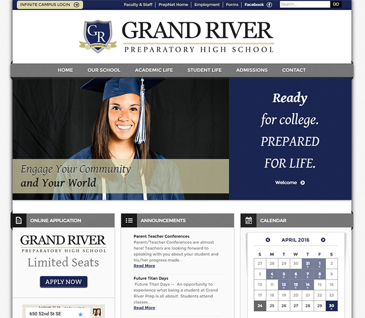 grand river prep school