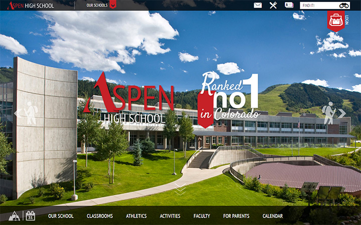 aspen high school website