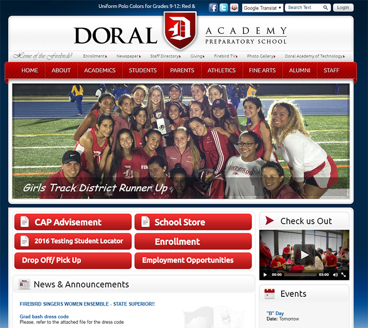 preparatory school doral website