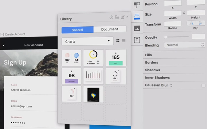 sketch craft library screenshot