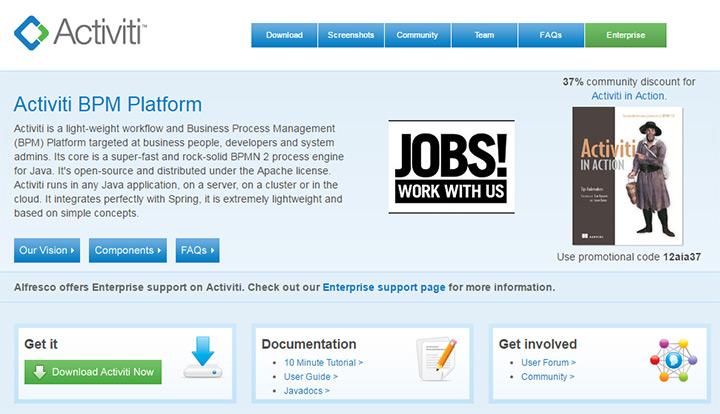activiti homepage
